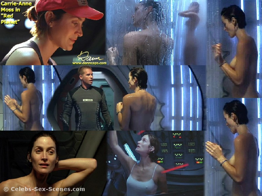 carrie anne moss nude video № 66623