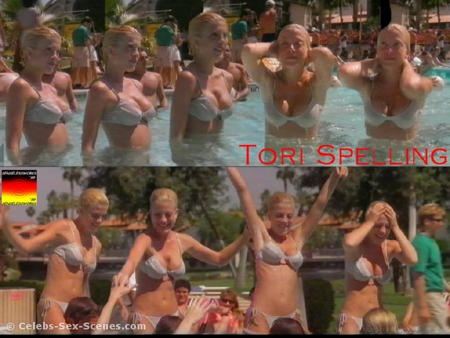 Tori spelling nude sex scene, xxxvaginapics