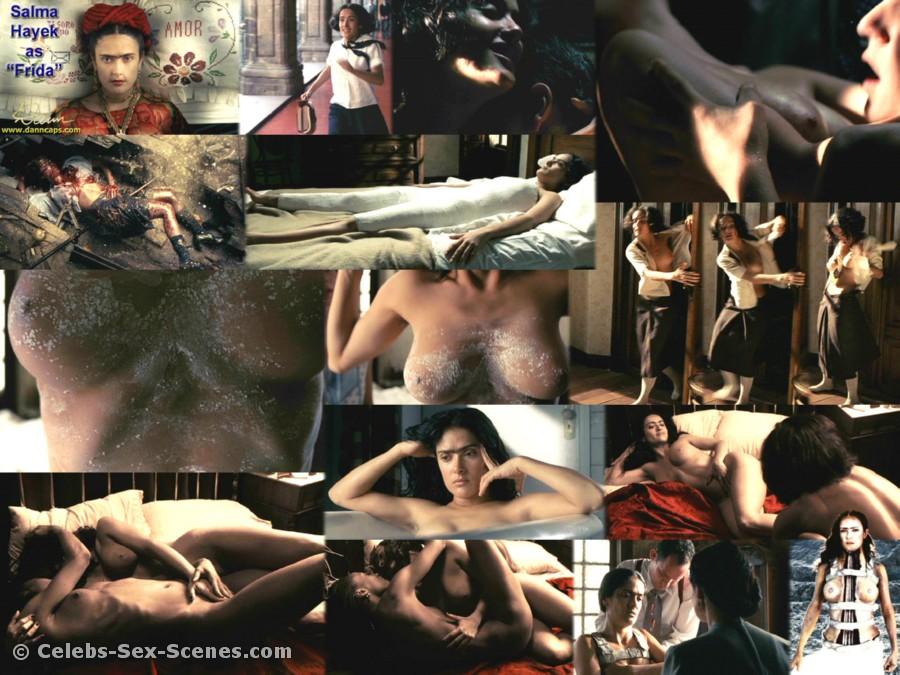 nude pics of selma hayek № 75926